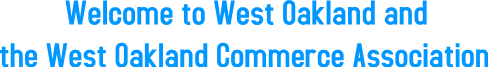 Welcome to West Oakland and